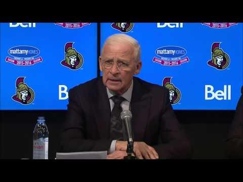 Bryan Murray stepping down, Pierre Dorion new Senators GM