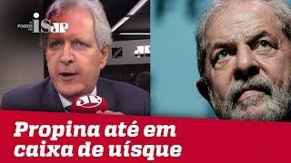 Lula recebia propina até em caixa de uísque