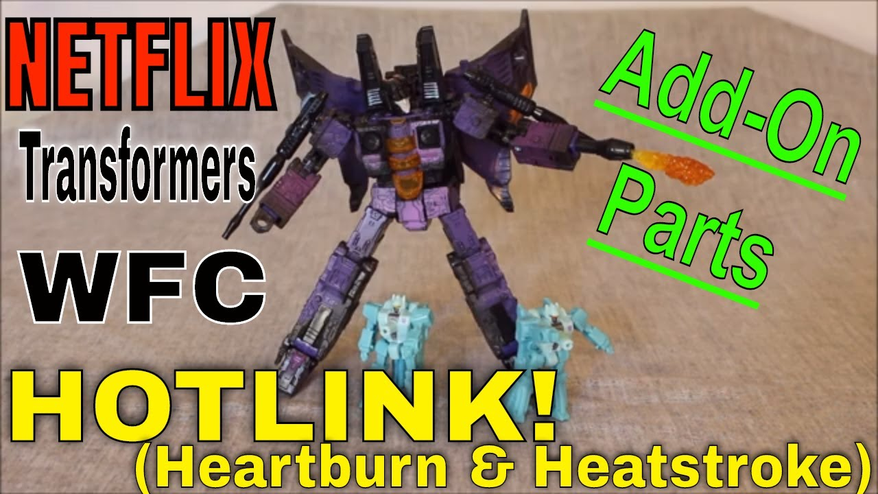 Netflix Hotlink Trio with Add-On Parts! Review by GotBot