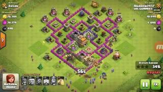 Clash of Clans: Gi-Wiz (2 star attack strategy)