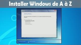 Installer Windows de A à Z | Windows