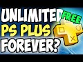 HOW TO GET FREE PLAYSTATION PLUS FOREVER FOR LIFE!!! (WORKING PS PLUS EXPLOIT)(UNPATCHABLE)