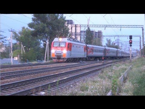 ЭП1М-730 с поездом №539 Кострома — Анапа.