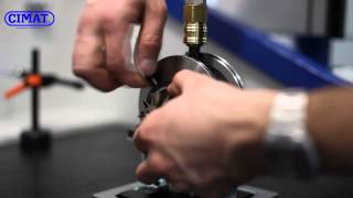 видео Устройство балансировки ротора турбины