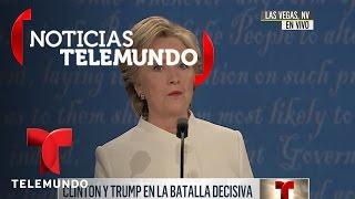 EN VIVO: Tercer debate presidencial entre Hillary Clinton y Donald Trump en español