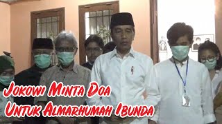 Suasana Pemakaman Ibunda Jokowi di Karanganyar.