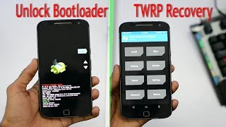 Moto G4/G4 plus : Unlock Bootloader & Install Twrp Recovery