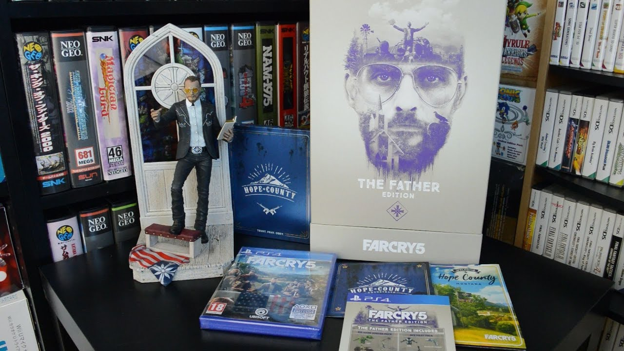 Unboxing Far Cry 5 The Father Edition