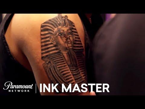 'Egyptian' Elimination Tattoo Part II | Master Vs. Apprentice (Season 6)
