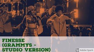Bruno Mars  Ft. Cardi B  (Finesse Grammys - Studio Version)