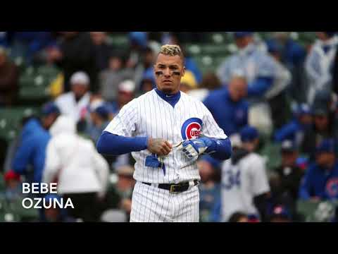 Cubs Walk Up Songs- August 2017