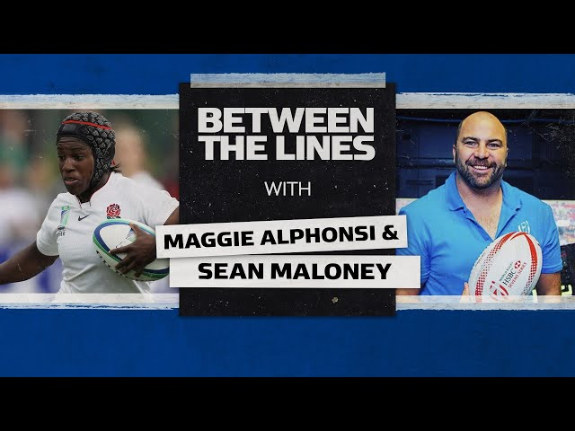 Maggie Alphonsi | Leaving a legacy and winning RWC 2014 🏆 | Between The Lines