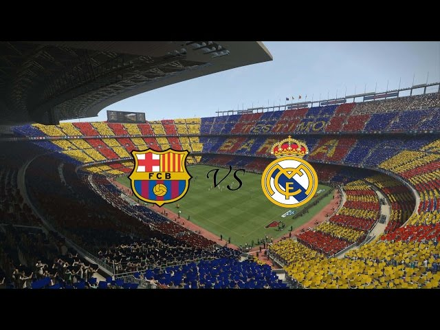 PES 17 - El Cl?sico Barcelona vs Real Madri - La Liga  ( Modo Estrela ) Playstation 4
