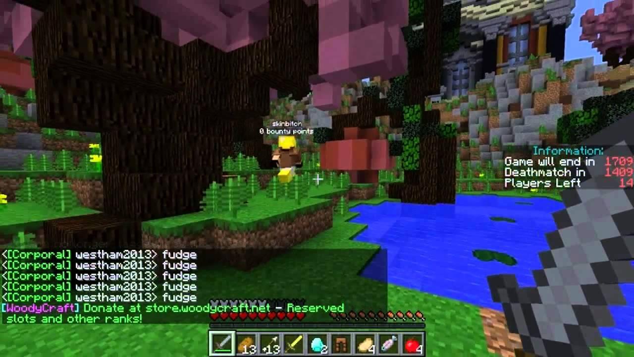 Minecraft: Hunger Games ft. Phil Kessel (Beefs2) | CorgiCA
