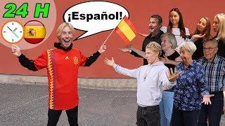 JAG PRATAR BARA SPANSKA I 24 H