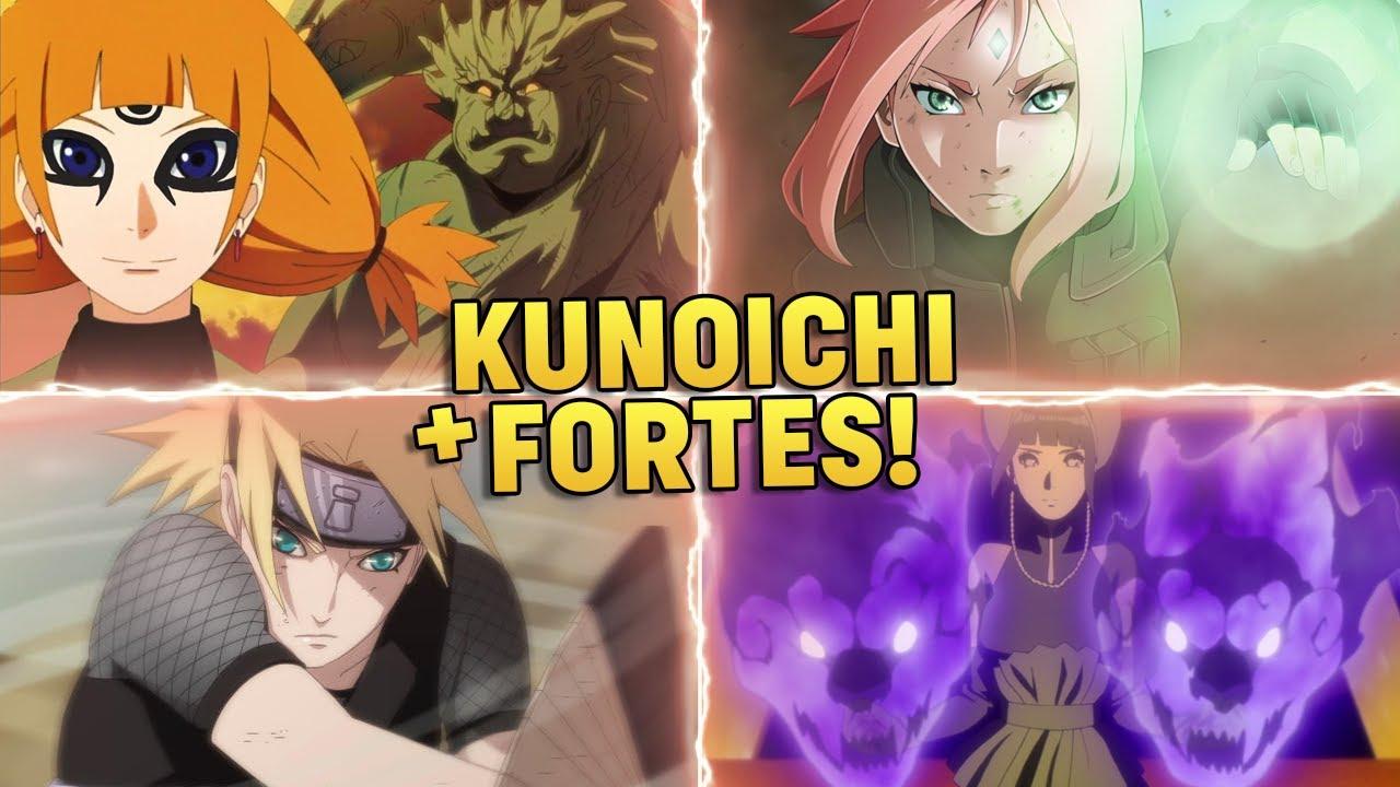 AS 10 KUNOICHIS MAIS FORTES DE BORUTO | Player Solo