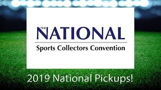 2019 National Convention Pickups - Auto Jersey, 1930's Memorabilia, Vintage and PC Singles!
