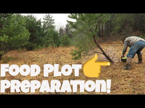 Large Food Plots For Deer And Turkey | Food Plot Preparation!
