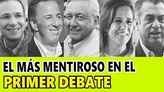 Verdades y Mentiras de los candidatos en el Primer Debate