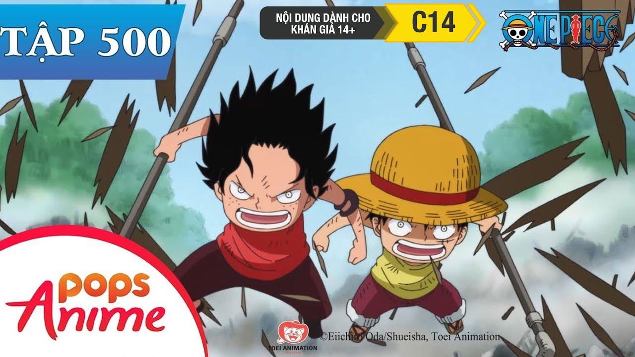 One Piece Tập 500 – Tự Do Bị Cướp Mất! Âm Mưu Của Các Quý Tộc Chia Cắt Tình Anh Em – Đảo Hải Tặc