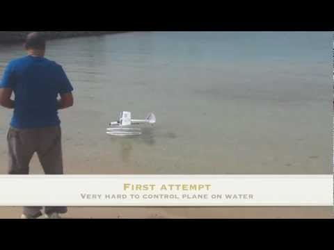 Supercub lp on floats-Red Sea