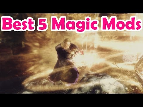 Best Skyrim Magic Mods Of All Time (2015) - YouTube