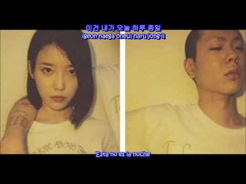 IU Ft. Oh Hyuk - Can't Love You Anymore (Sub Español - Hangul - Roma)