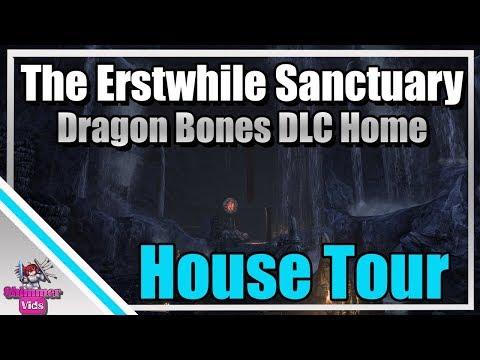 ESO: The Erstwhile Sanctuary House Tour - Dragon Bones DLC