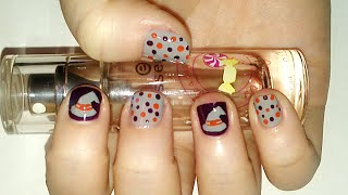 Halloween Witch Hat Nail Art Tutorial | Samantha Beauty Thumbnail