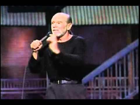 George Carlin about golfing