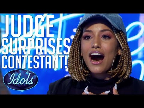 Judge LIONEL RICHIE SURPRISES Contestant With A Duet On American Idol 2018 Audition!