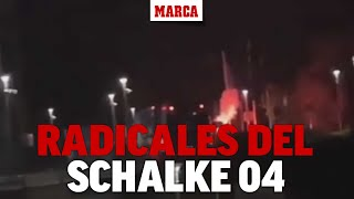 Dramático: Radicales del Schalke persiguen a los jugadores para lincharles tras el descenso I MARCA