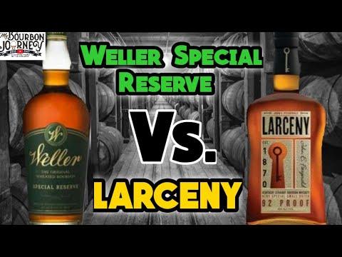Weller Special Reserve Vs Larceny Wheated Bourbon Head To Head