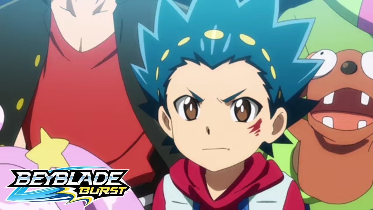 BEYBLADE BURST Episode 13 Shu vs Orochi at the District Tournament