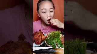 ASMR Chinese food eating show …