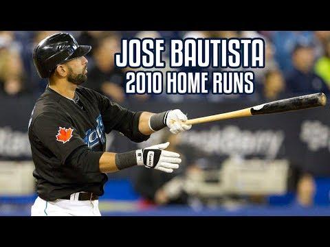 Jose Bautista | 2010 Home Runs