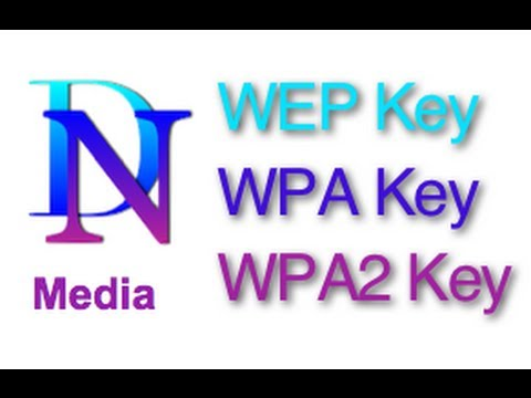 WEP Security WPA Security WPA2 Security WEP Key vs WPA Key v