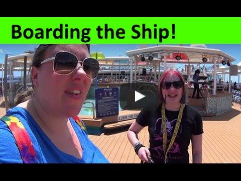 Boarding the Empress of the Seas Cruise Ship ~ Royal Caribbean vlog [ep2]