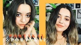 İç Dökmeli Turuncu Yaz Makyajı Videosu