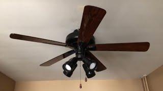 """Hunter Infiniti Ceiling Fan 52"""" (Black)"""