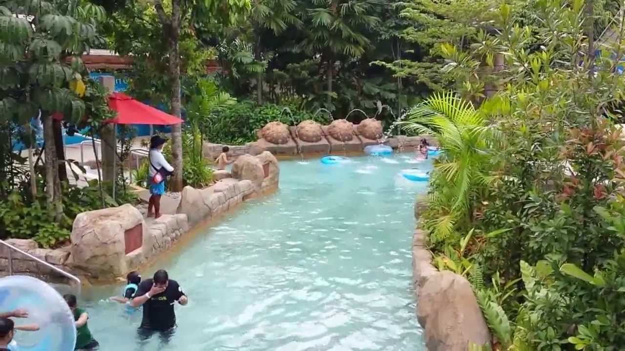 adventure river world longest lazy river youtube