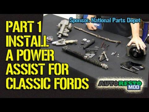 1965 Ford Ranchero Wiring Diagram 2004 Yamaha Raptor 660 Adding Power Assist Steering To Classic Part 1 Episode 209 Autorestomod