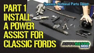 Adding Power Assist Steering To Classic Ford Part 1 Episode 209 Autorestomod 1