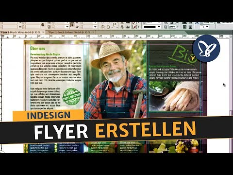InDesign Tutorial - Flyer erstellen und in Druck geben | InDesign Tutorial Deutsch
