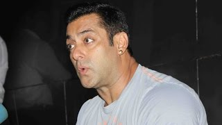 Salman Khan Lost his Cool with the Media Once Again !