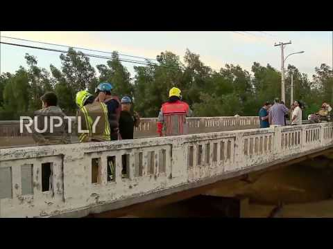 Chile: Floods leaves up to 6 million people without water supply in Santiago