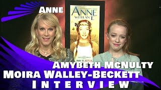 """ANNE WITH AN """"E"""" - Amybeth McNulty and Moira Walley-Beckett Interview"""