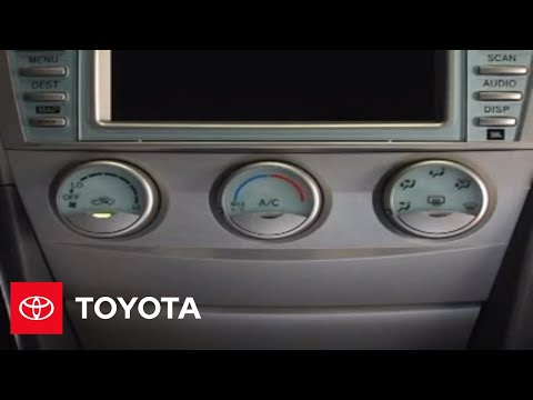 camry how to heating ce le se 2007 2009 camry toyota youtube. Black Bedroom Furniture Sets. Home Design Ideas