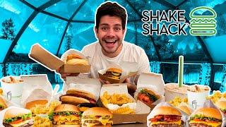 COMPRE TOOOODO el menú de  SHAKE SHACK!!!