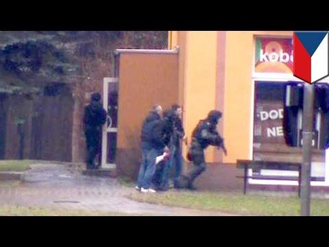 Shooting rampage: gunman shoots up restaurant in Czech Republic, kills 9 people including himself